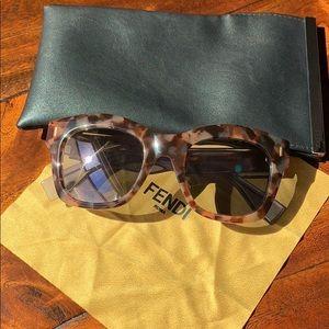 Fendi Color Block Sunglasses